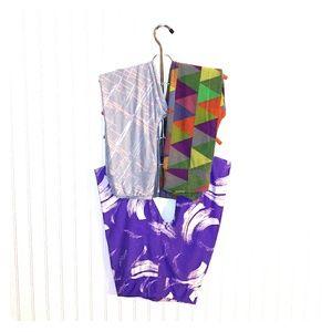 Lularoe leggings bundle of 3. Size- one size